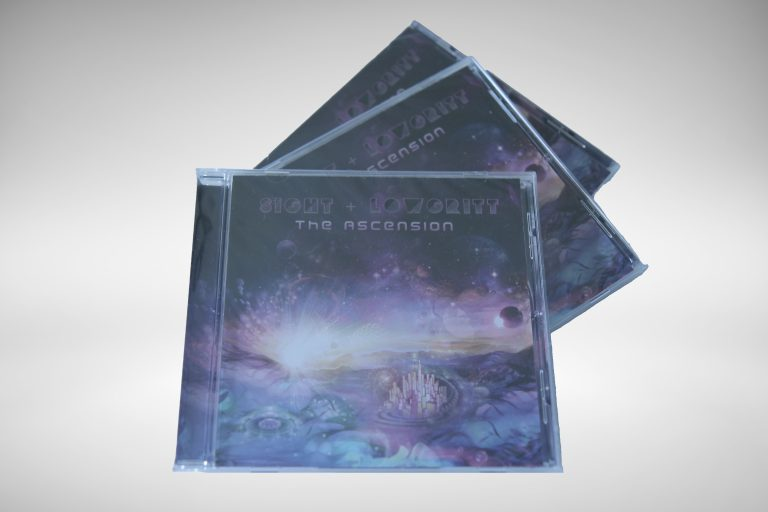 Physical CD of the full length album The Ascension LP by Sight & Lowgritt